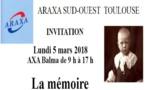 Journée d'information et de formation sur la mémoire