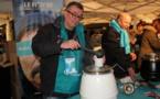 """Des adhérents ARAXA Lyon Participent à l'action """"soupe en scene"""""""