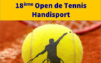 18ème Open de Tennis Handisport au Pont de Cé.