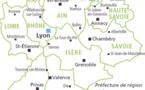 La région Rhone-Alpes du 5 au 11 juin 2016